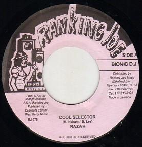 Razah : Cool Selector | Single / 7inch / 45T  |  Dancehall / Nu-roots