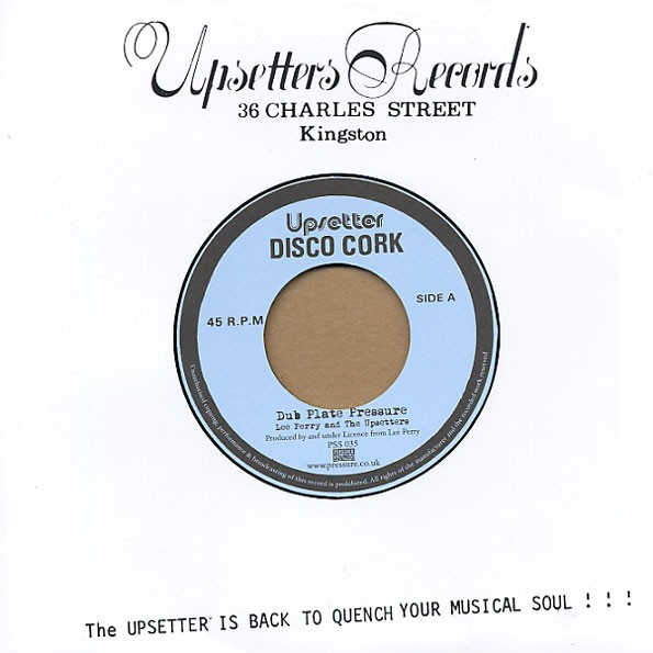 Lee Perry And The Upsetters : Dub Plate Pressure | Single / 7inch / 45T  |  Dub
