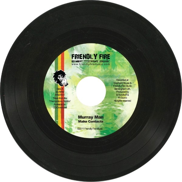 Murray Man : Make Conflicts | Single / 7inch / 45T  |  Dancehall / Nu-roots