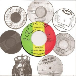 Prince Far I & Black Skin : Red Blood | Single / 7inch / 45T  |  Dancehall / Nu-roots