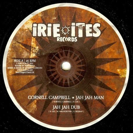 Cornell Campbell : Jah Jah Man | Maxi / 10inch / 12inch  |  UK