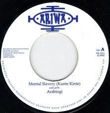 Arabingi : Mental Slavery | Single / 7inch / 45T  |  Dancehall / Nu-roots
