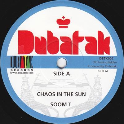 Soom T : Chaos In The Sun   Single / 7inch / 45T     UK
