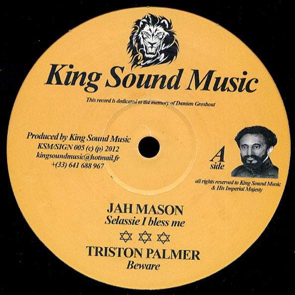Jah Mason : Selassie I Bless Me | Maxi / 10inch / 12inch  |  UK