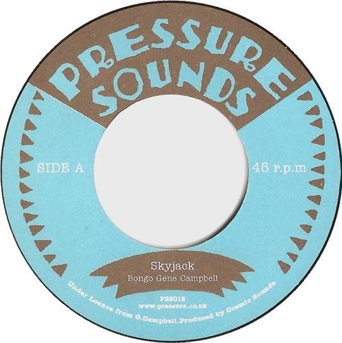 Bongo Gene Campbell : Skyjack | Single / 7inch / 45T  |  Oldies / Classics