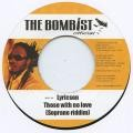 Lyricson : Those With No Love | Single / 7inch / 45T  |  Dancehall / Nu-roots