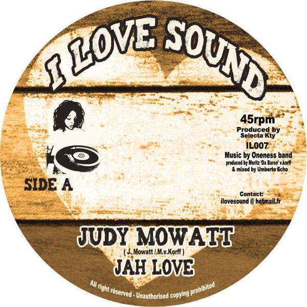Judy Mowatt : Jah Love   Single / 7inch / 45T     Dancehall / Nu-roots