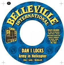 Dan I Locks : Army In Helicopter | Single / 7inch / 45T  |  Dancehall / Nu-roots