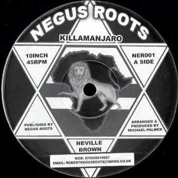 Neville Brown : Killamanjaro | Maxi / 10inch / 12inch  |  Oldies / Classics
