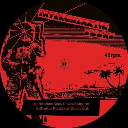 Nestori : Jah Golden Key ( Red )   Single / 7inch / 45T     UK