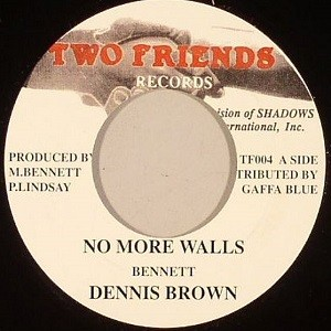 Dennis Brown : No More Walls | Single / 7inch / 45T  |  Oldies / Classics