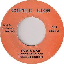 R Zee Jackson : Roots Man   Single / 7inch / 45T     UK