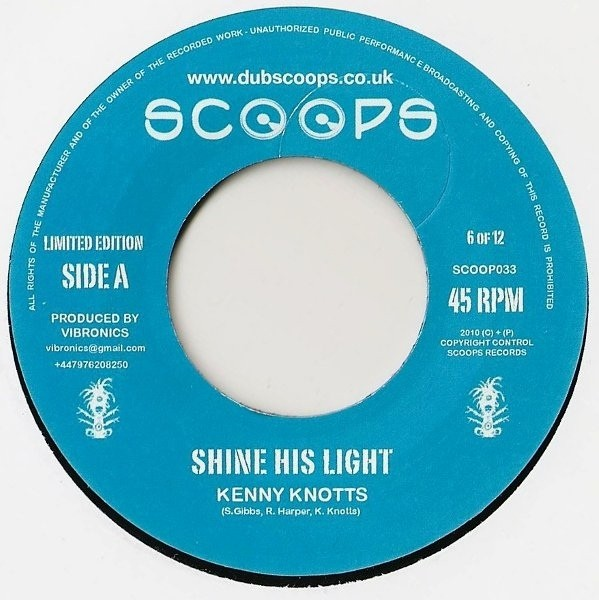Kenny Knotts : Shine His Light | Single / 7inch / 45T  |  UK