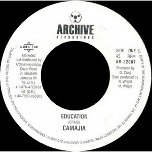 Camajia : Education | Single / 7inch / 45T  |  Oldies / Classics