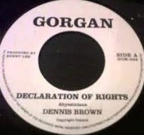 Dennis Brown : Declaration Of Rights | Single / 7inch / 45T  |  Oldies / Classics