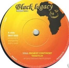 Tenastelin : Richest Continent   Single / 7inch / 45T     UK