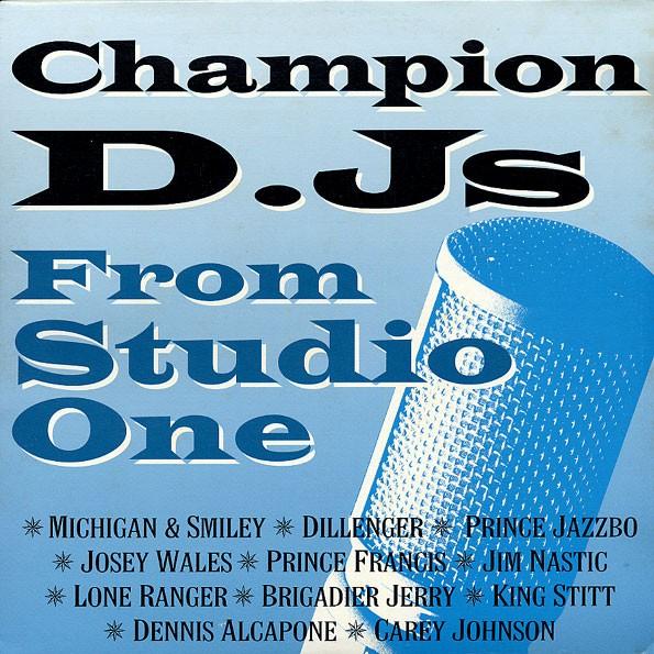 Various : Champion Djs From Studio One | LP / 33T  |  Oldies / Classics