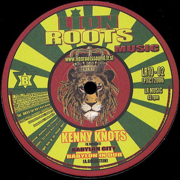 Kenny Knotts : Babylon City   Maxi / 10inch / 12inch     UK