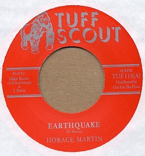 Horace Martin : Earthquake   Single / 7inch / 45T     Dancehall / Nu-roots
