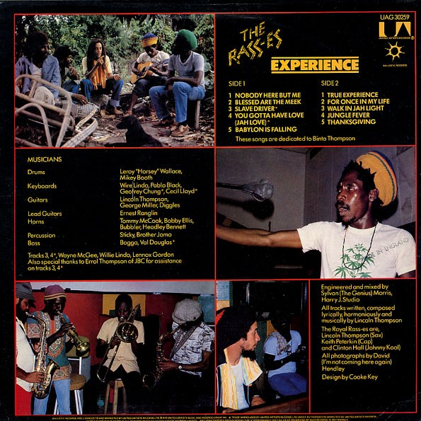 The Rass-es : Experience   LP / 33T     Oldies / Classics