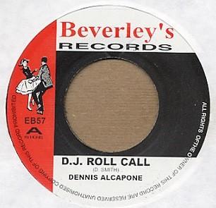 Dennis Alcapone : Dj Roll Call