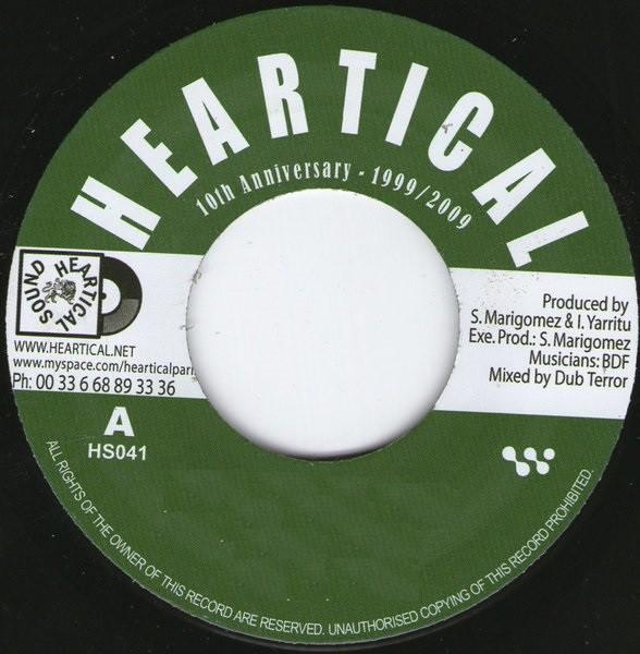 Carl Dawkins : Doggy World World   Single / 7inch / 45T     Dancehall / Nu-roots