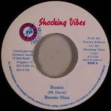 Beenie Man : Romie   Single / 7inch / 45T     Dancehall / Nu-roots