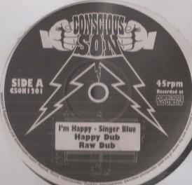 Singer Blue : I'm Happy   Maxi / 10inch / 12inch     UK