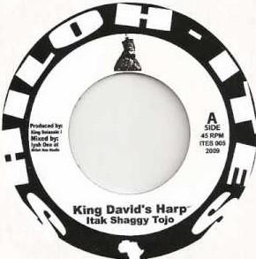 King David's Harp : Itak Shaggy Tojo | Single / 7inch / 45T  |  UK