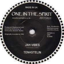 Tenastelin : Jah Vibes   Single / 7inch / 45T     UK
