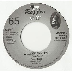 Barry Issac : Wicked System   Single / 7inch / 45T     UK