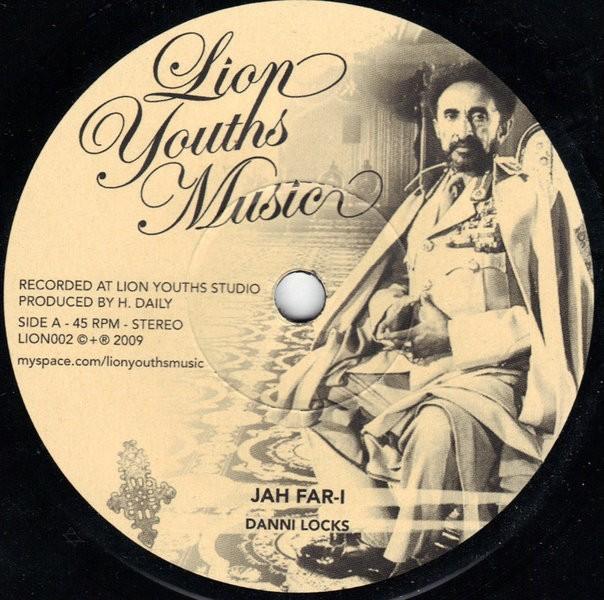 Danni Locks : Jah Far-i   Single / 7inch / 45T     UK
