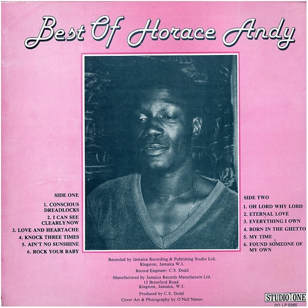 Horace Andy : Best Of Horace Andy | LP / 33T  |  Collectors