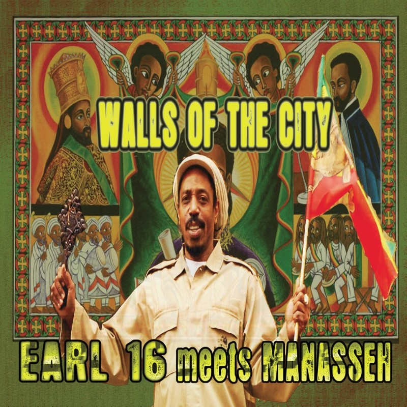 Earl Sixteen Meets Manassee : Walls Of The City | LP / 33T  |  UK