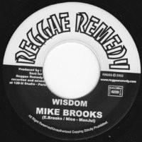 Mike Brooks : Wisdom | Single / 7inch / 45T  |  UK
