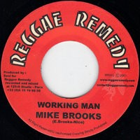Mike Brooks : Working Man | Single / 7inch / 45T  |  UK