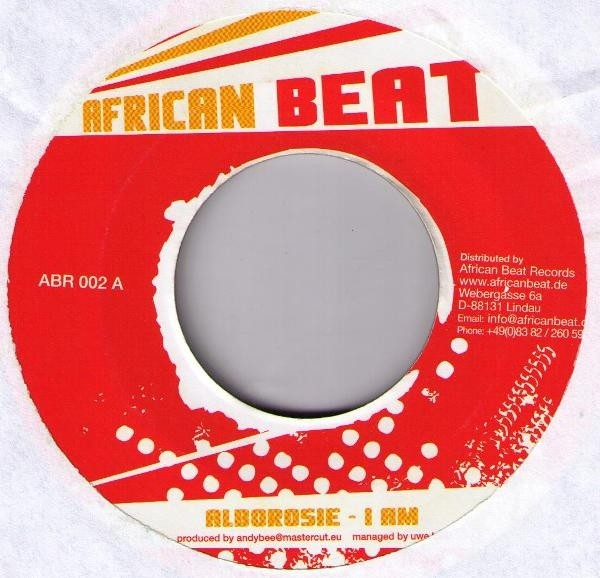 Alborosie : I Am | Single / 7inch / 45T  |  Dancehall / Nu-roots