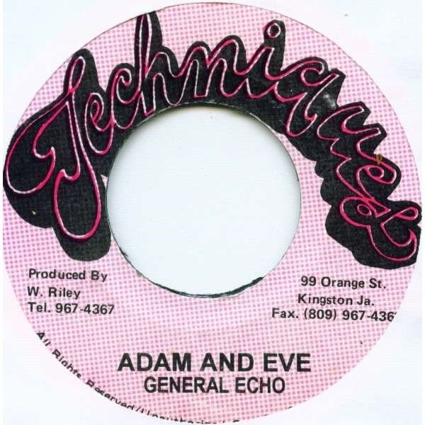 General Echo : Adam And Eve   Single / 7inch / 45T     Oldies / Classics