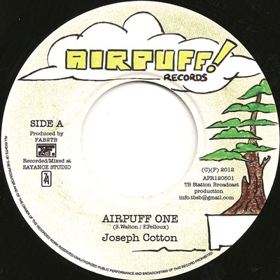 Joseph Cotton : Airpuff One | Single / 7inch / 45T  |  Dancehall / Nu-roots