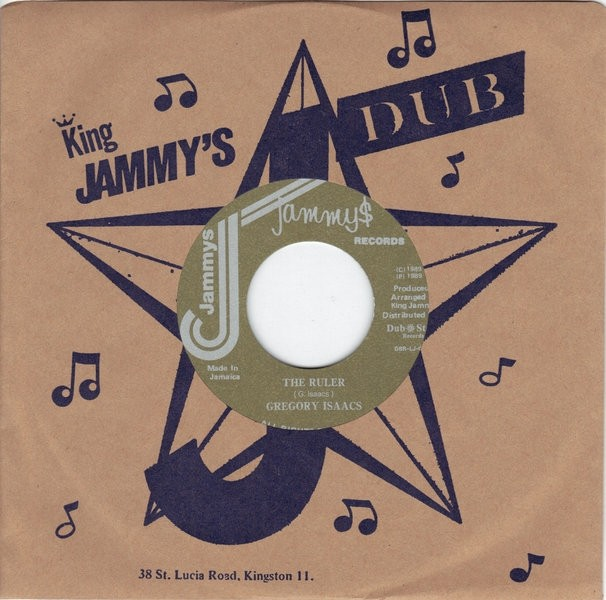 Gregory Isaacs : The Ruler | Single / 7inch / 45T  |  Oldies / Classics