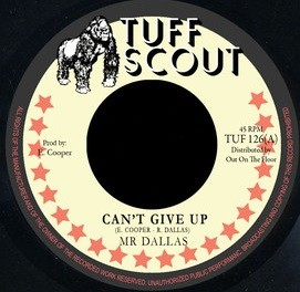 Mr Dallas : Can't Give Up   Single / 7inch / 45T     UK