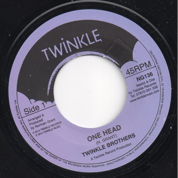 Twinkle Brothers : One Head | Single / 7inch / 45T  |  UK