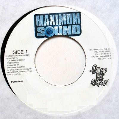Anthony B : Can' T Live That Way | Single / 7inch / 45T  |  Dancehall / Nu-roots