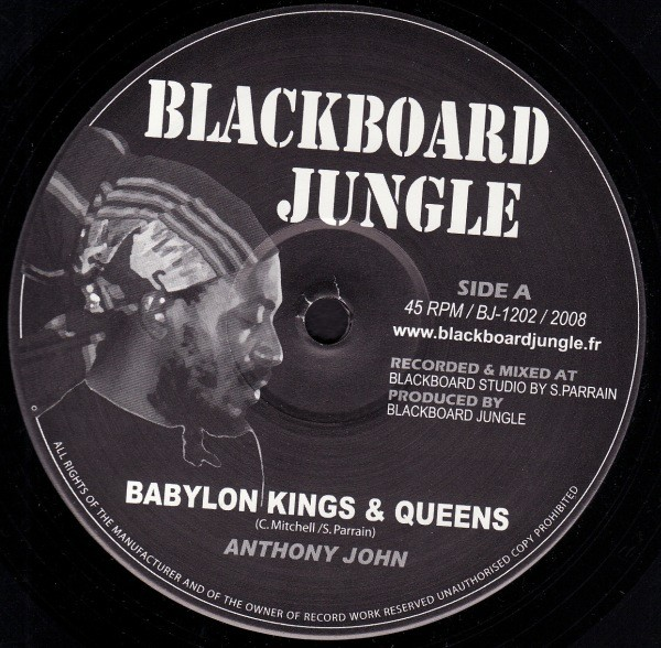 Anthony John : Babylon Kings & Queens Extended Mix | Maxi / 10inch / 12inch  |  UK