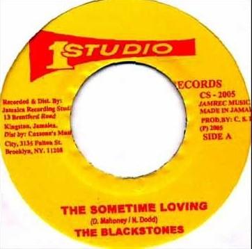 The Blackstones : The Sometime Loving | Single / 7inch / 45T  |  Oldies / Classics