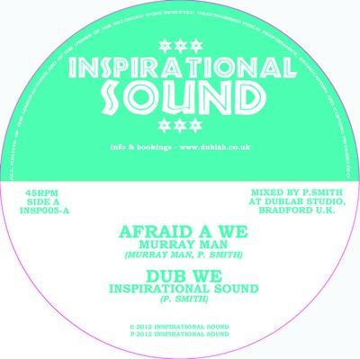 Murray Man : Afraid A We | Maxi / 10inch / 12inch  |  UK
