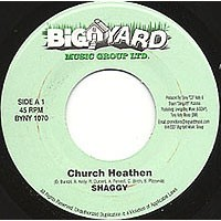 Shaggy : Church Heathen | Single / 7inch / 45T  |  Dancehall / Nu-roots