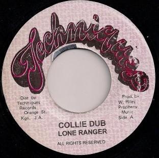 Lone Ranger : Collie Dub   Single / 7inch / 45T     Oldies / Classics