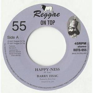 Barry Issac : Happy-ness   Single / 7inch / 45T     UK