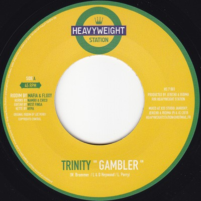 Trinity : Gambler | Single / 7inch / 45T  |  Oldies / Classics